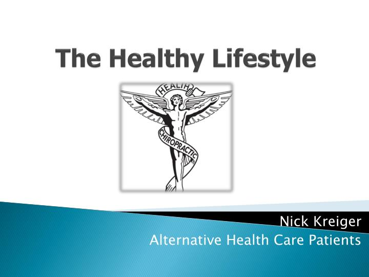 the healthy lifestyle n.