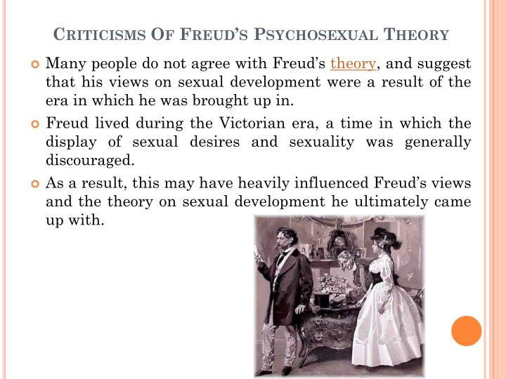 Psychosexual theory criticism
