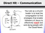 direct hit communication1