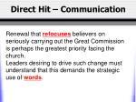 direct hit communication2