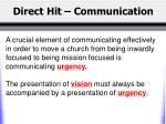direct hit communication7