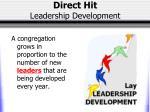 direct hit leadership development