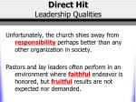 direct hit leadership qualities11