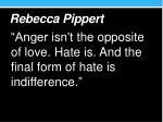 rebecca pippert