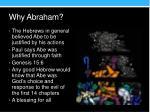 why abraham1