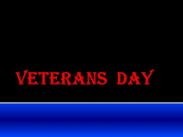 veterans day n.