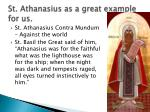 st athanasius as a great example for us