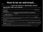 how to be an astronaut1
