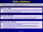 belief obedience1