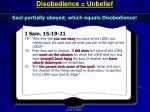 disobedience unbelief3
