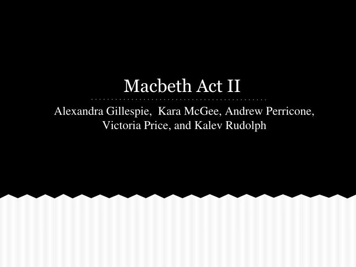 macbeth act ii n.