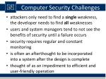 computer security challenges1