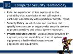 computer security terminology1