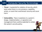computer security terminology2