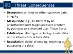 threat consequences1