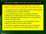 biografi sebagai metodologi kualitatif1