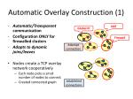 automatic overlay construction 1