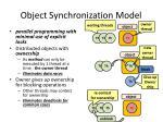 object synchronization model