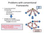 problems with conventional frameworks