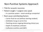 non punitive systems approach