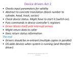 device drivers act 2