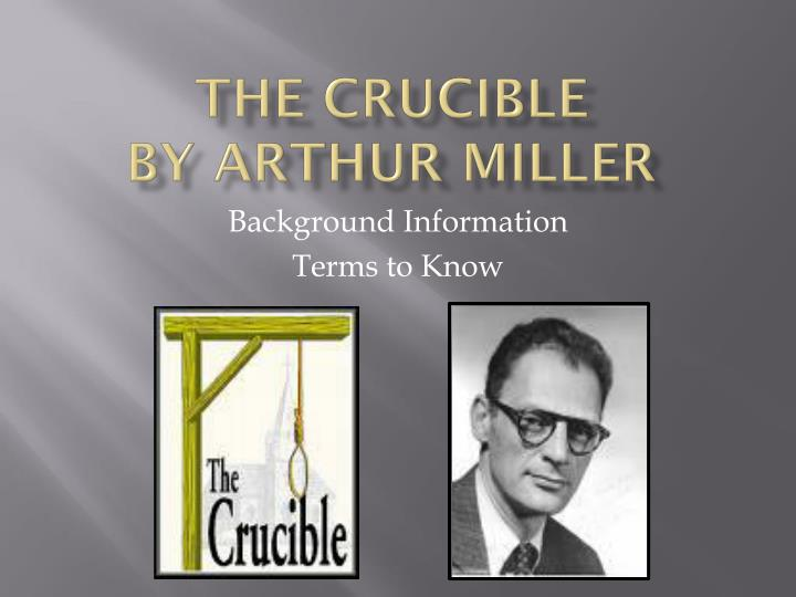 the crucible by arthur miller n.