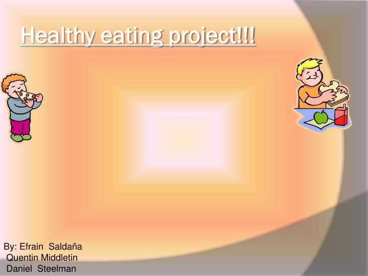 healthy eating project n.