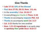 give thanks1