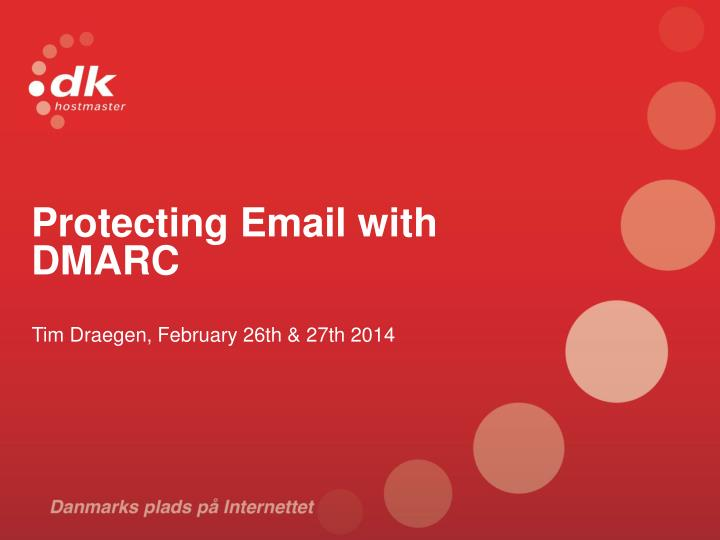 protecting email with dmarc n.