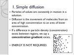 1 simple diffusion