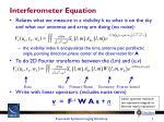 interferometer equation