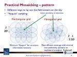 practical mosaicking pattern