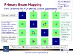 primary beam mapping