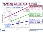 vlass for synoptic radio surveys