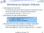 behandlung von subtypen wildcards1