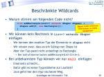beschr nkte wildcards1