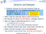 generics und subtypen1