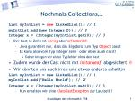 nochmals collections1