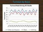 turnout by race