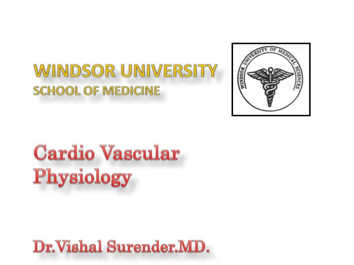 windsor university school of medicine n.