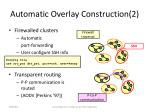 automatic overlay construction 2