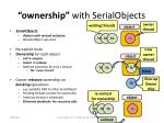 ownership with serialobject s