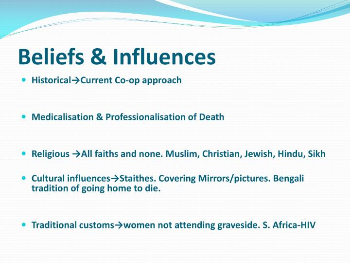 Beliefs & Influences