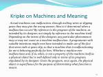 kripke on machines and meaning