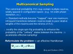 multicanonical sampling