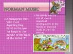 norman music