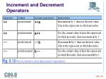increment and decrement operators2