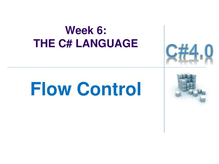 week 6 the c language n.