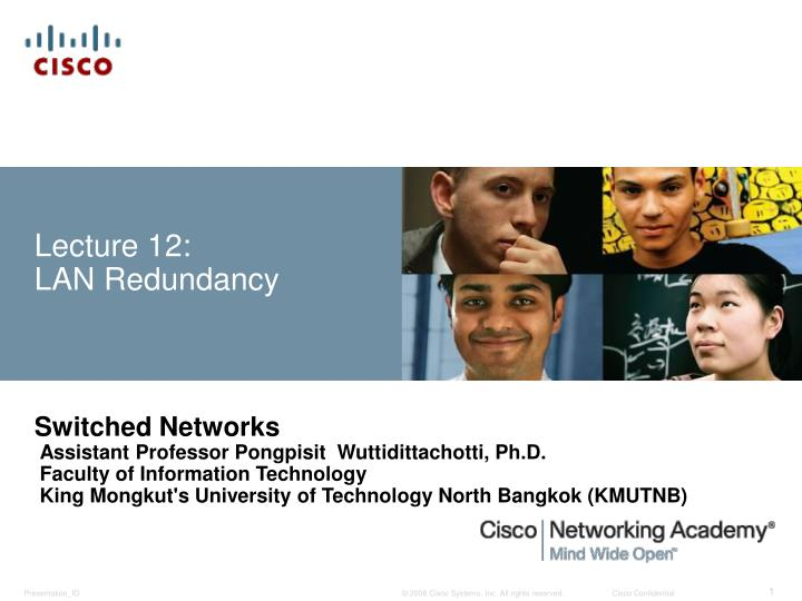 lecture 12 lan redundancy n.