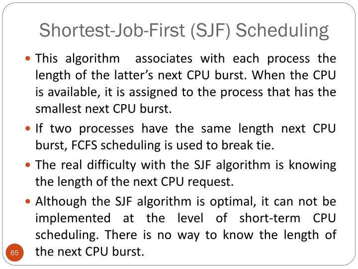 Shortest-Job-First (